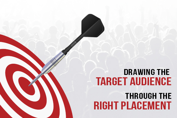 Drawing Target Audience through Right Placement
